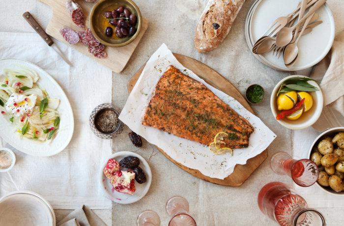 Marynowana ryba pieczona